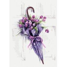 Tapybos pagal skaičius rinkinys Gėlių skėtis