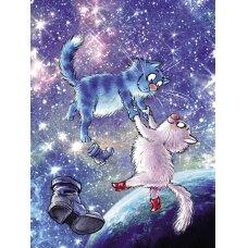 Tapybos pagal skaičius rinkinys Katės - Visatoje