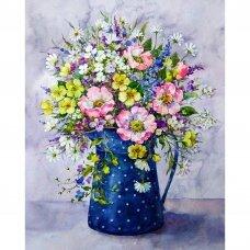 Tapybos pagal skaičius rinkinys Laukinių gėlių puokštė