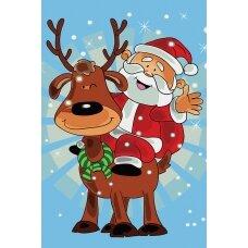 Tapybos pagal skaičius rinkinys Linksmų Kalėdų!