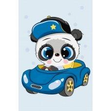 Tapybos pagal skaičius rinkinys Mažoji Panda